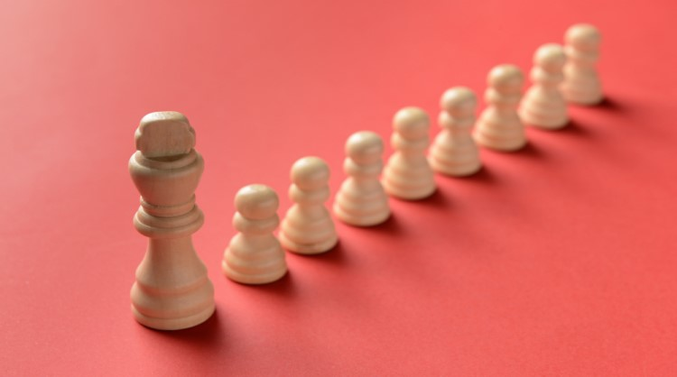 chess piece, leadership concept
