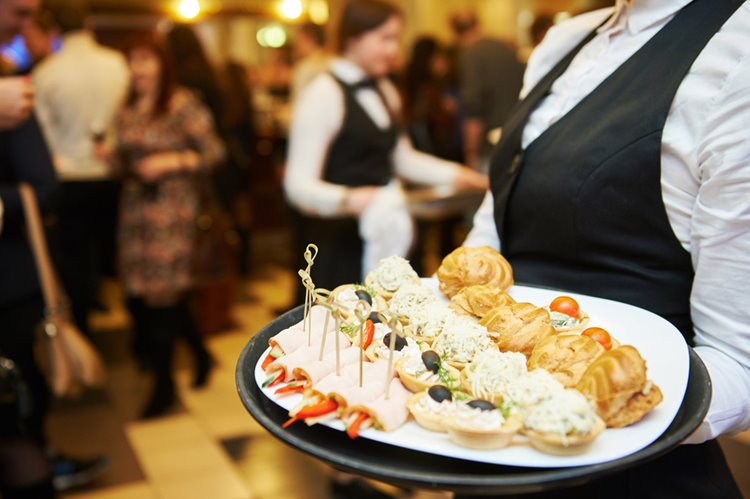 food catering at event