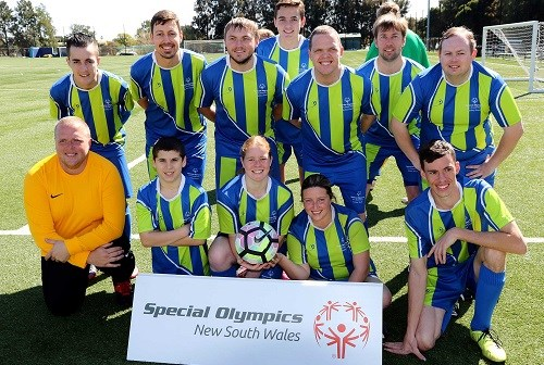 special olympics nsw team photo