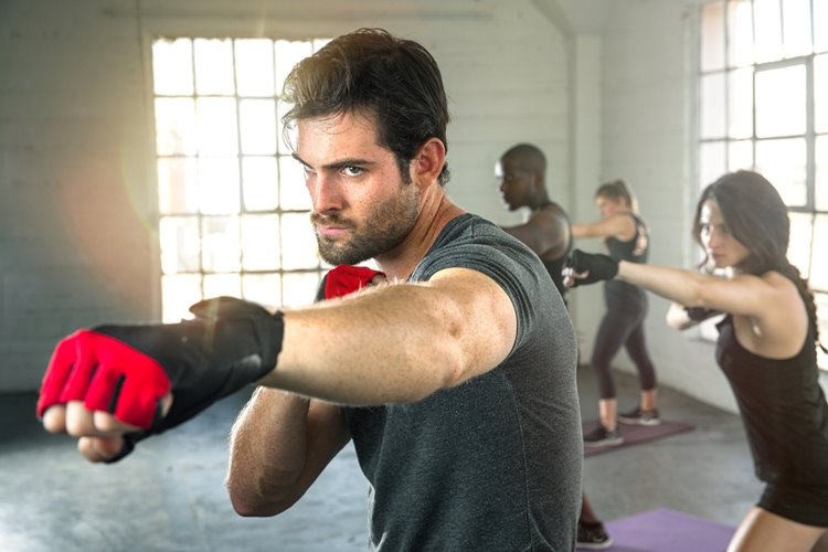 fitness boxing class