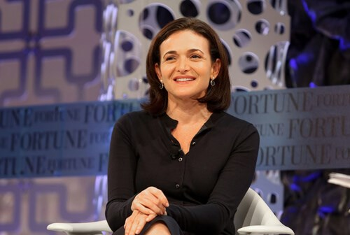 Chief Operating Officer of Facebook - Sheryl Sandberg