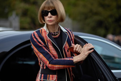 Editor in Chief of American Vogue - Anna Wintour